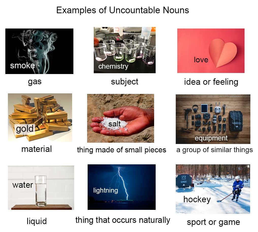 nouns without plural